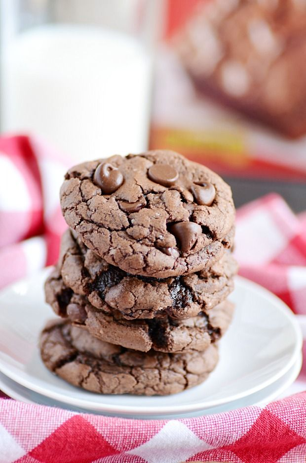 brownie mix cookies cookies cakes bars pinterest cookies rh pinterest com