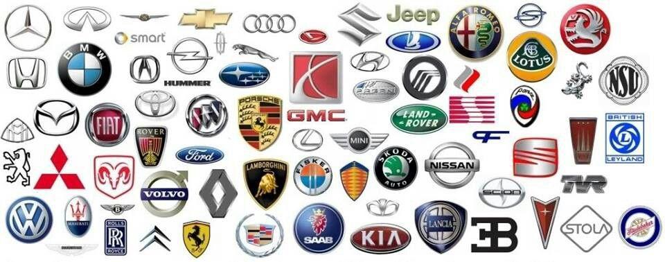 So Many Car Brands Logos Car Logos All Car Logos