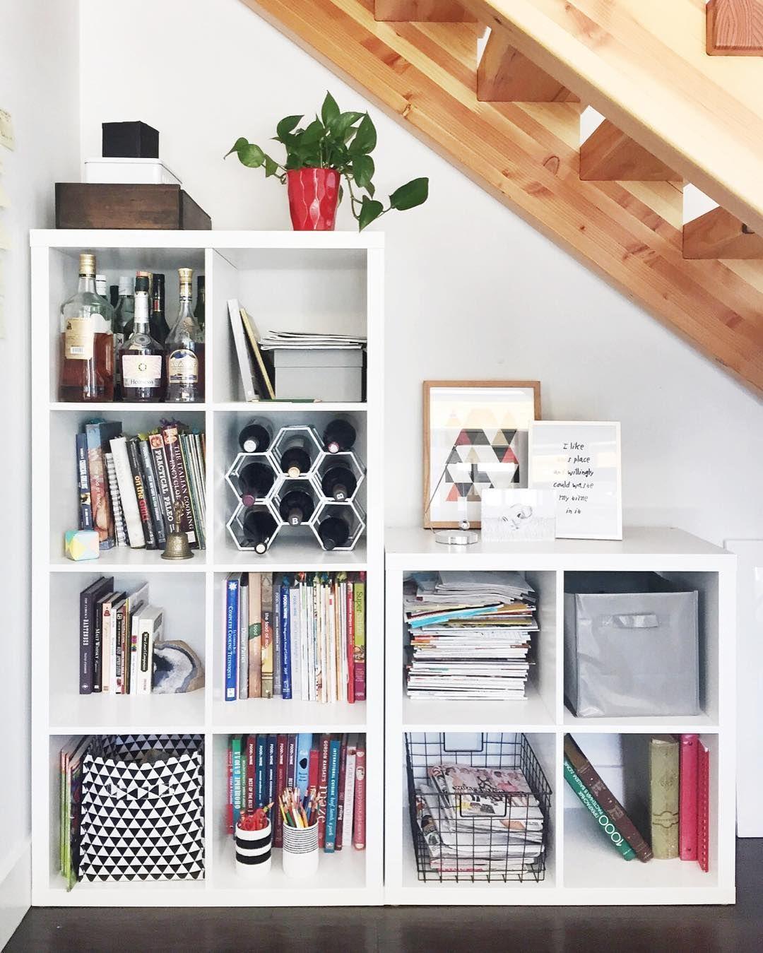 two ikea shelves 06place home ideas ikea room kallax rh pinterest com