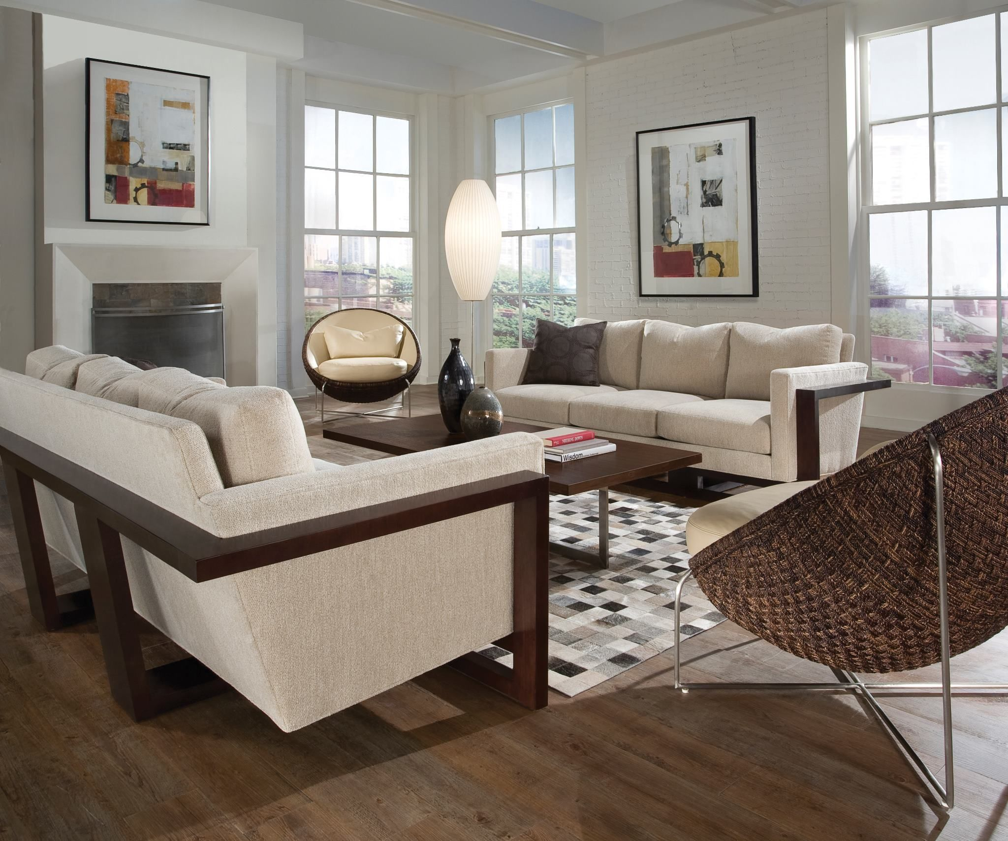 Living Room Interior Design with eXport Cocktail