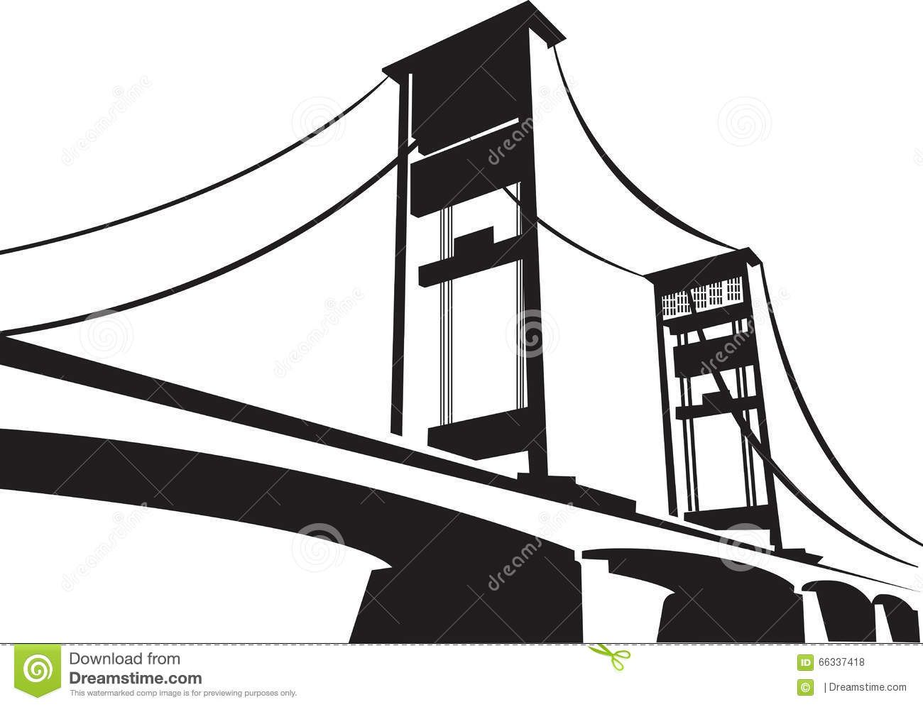 Ampera Bridge Palembang Sumatera Selatan Stock Vector Illustration Of Design Ampera 66337418 Palembang Vector Illustration Illustration