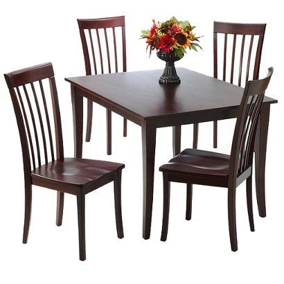 5 Piece Dolce Dining Set Table Dimensions 30 0 H X 48 0 W X
