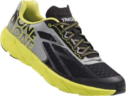 HOKA ONE ONE Men's Tracer Road-Running Shoes Black/Citrus 12.5