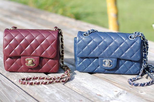 112add34ffb5 Chanel mini A65055 A35200   My style   Chanel classic flap, Chanel ...