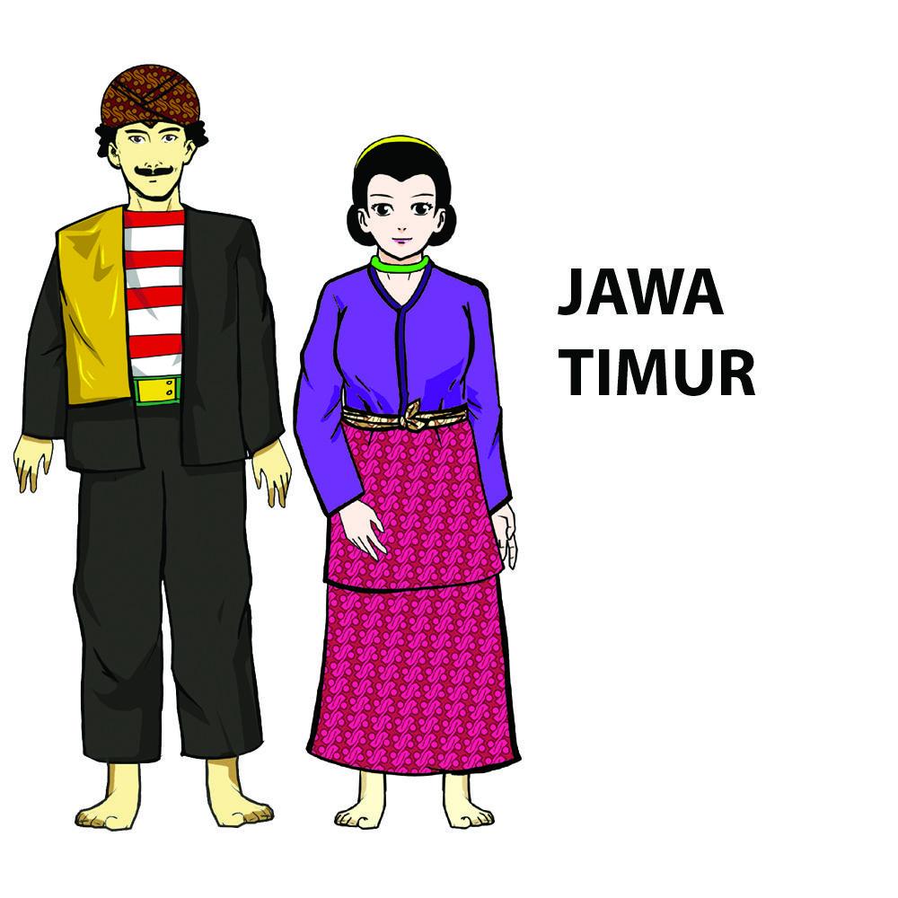 Ciri Khas Pakaian Adat Jawa Timur