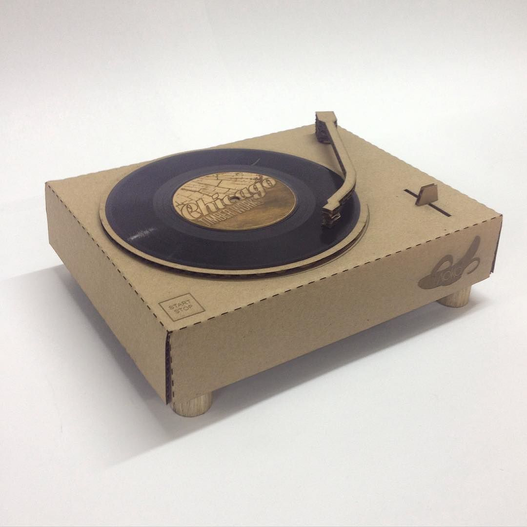inspiration for cardboard turntable dramatic play center music rh pinterest com