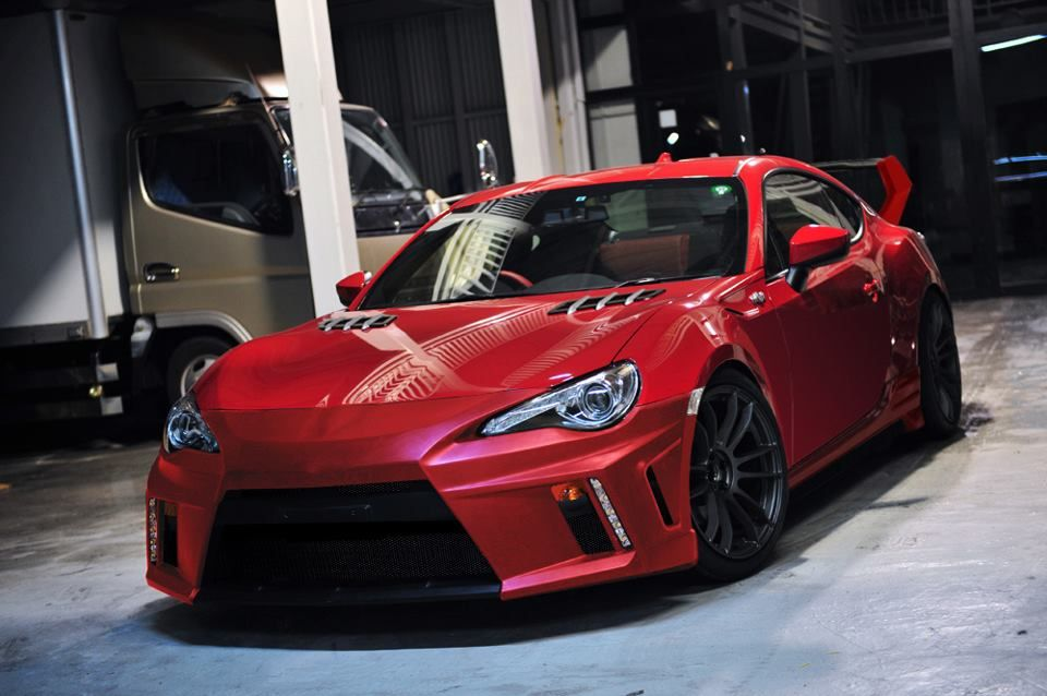 Frs custom body kit frs pinterest custom body kits cars and scion - Scion frs custom ...