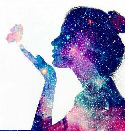 Galaxy Girls Color Of Galaxy Pinterest Galaxias