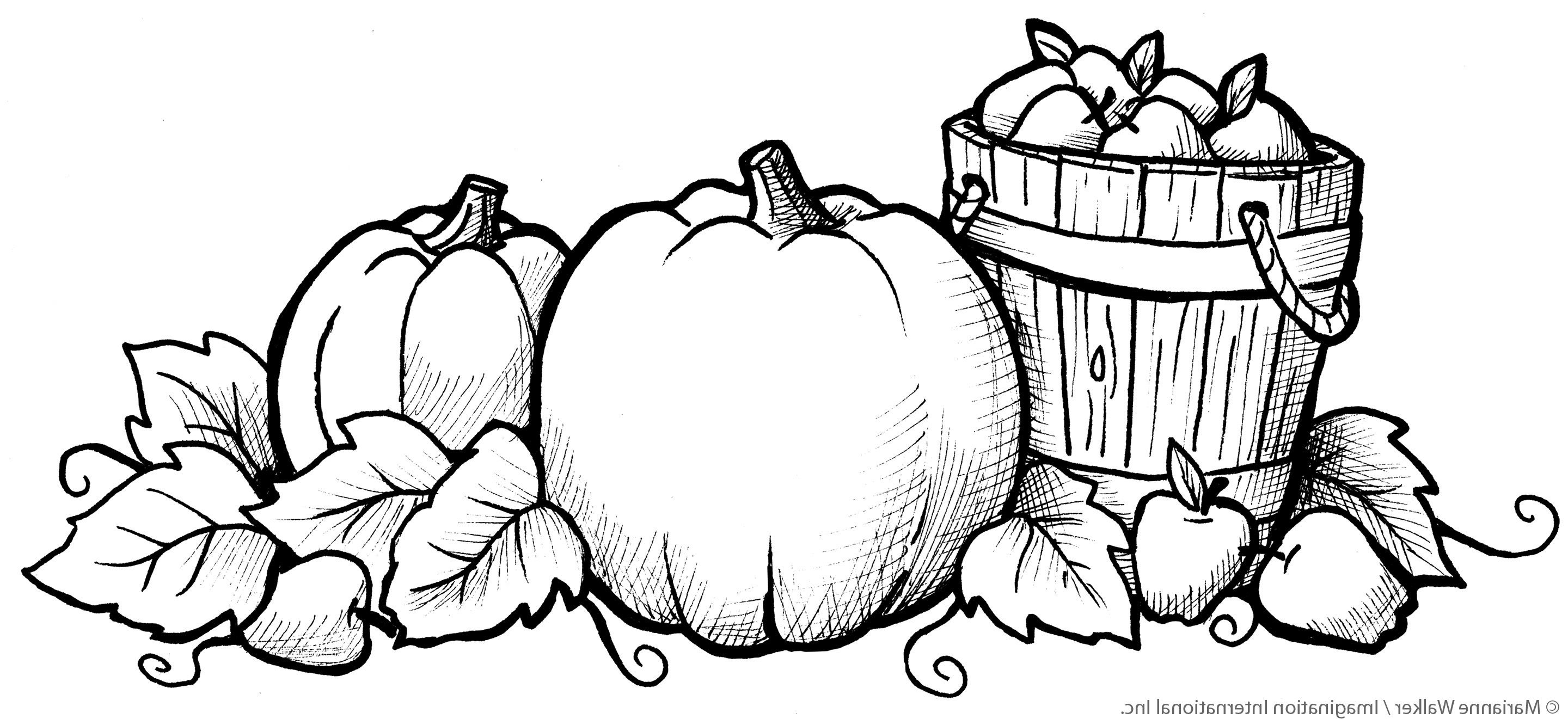 Fall Coloring Pages Free Printable