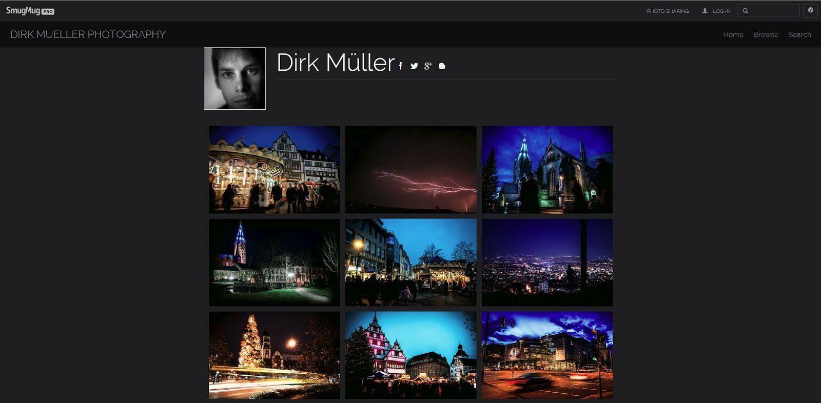 Dirk Mueller Photography: Hands On: SmugMug Pro Account besonders geeignet f...