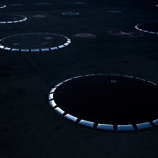 Unidentified Fuel Objects - Monochrome #monochrome #minimalism #abstractart #lobbyart via @jamesaiken09