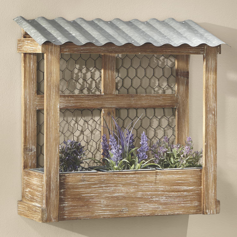 Chicken Wire Shelf | Country Door | Garden Features in 2019