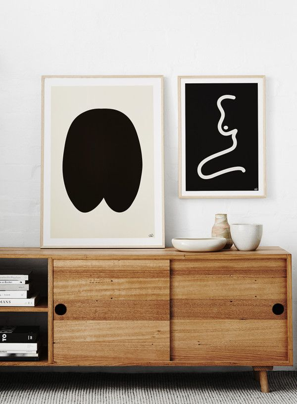 living room art prints%0A minimalist art prints by Caroline Walls