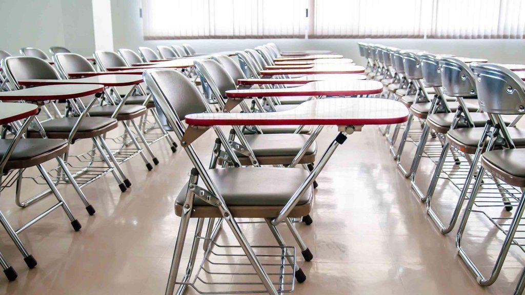 Middle school classroom Rebooting Industrial Era Seating