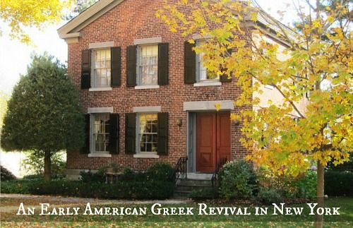 a traditional early american home in upstate new york things i rh pinterest com