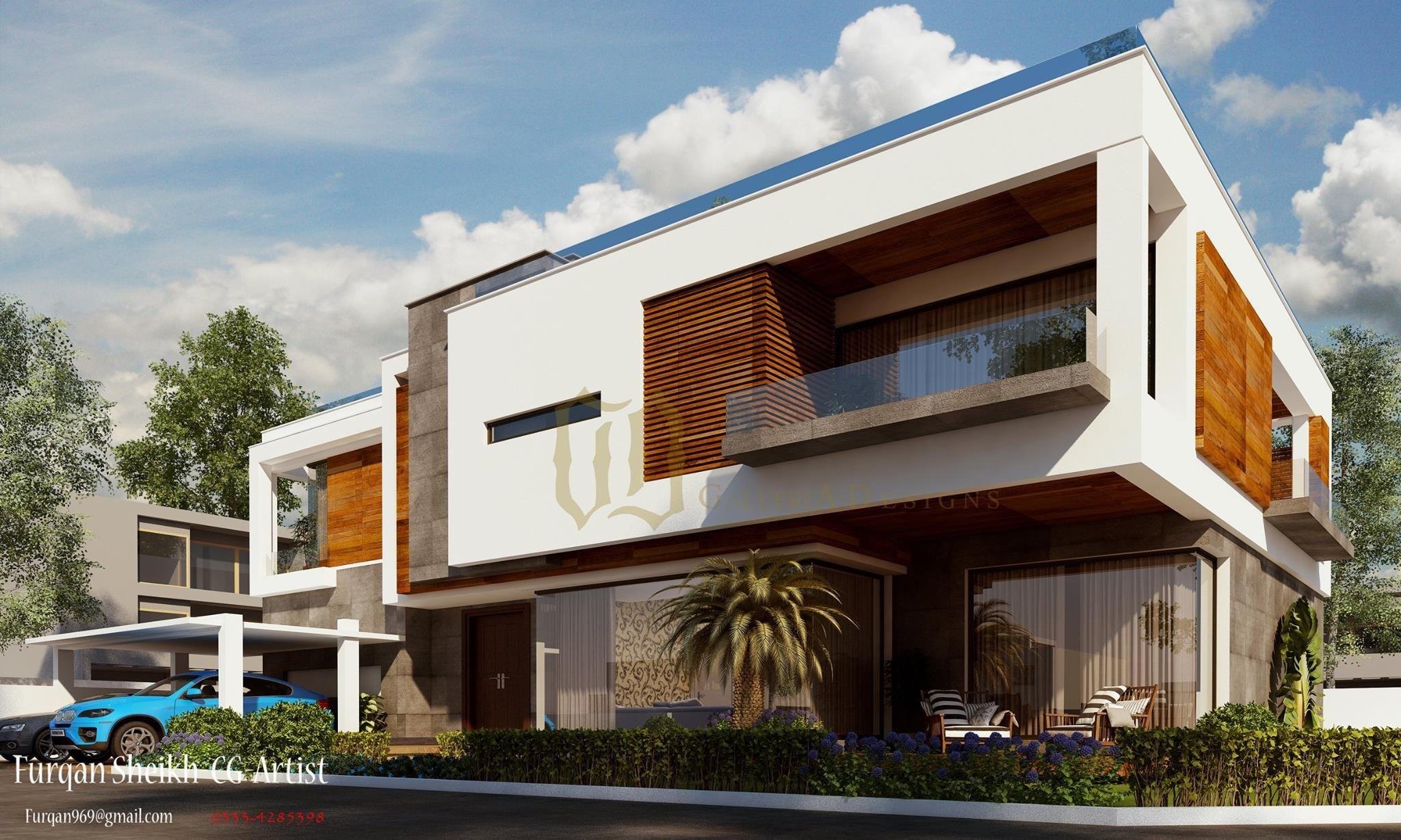 conemporary residence architecture home designs home designs pakistan galleria designs 2