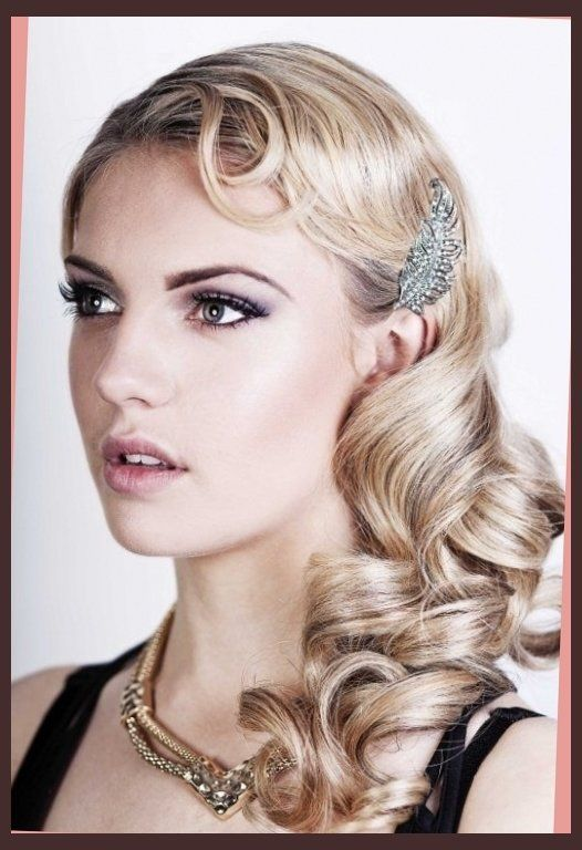 1920S Hairstyles For Long Hair Interesting 1920S Theme On Pinterest  Gats 1920S Hair And 1920S Within Roaring