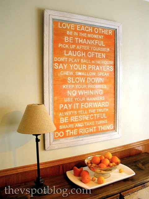 House Rules--Looks time consuming, but worth it for the money saved!! Love the color
