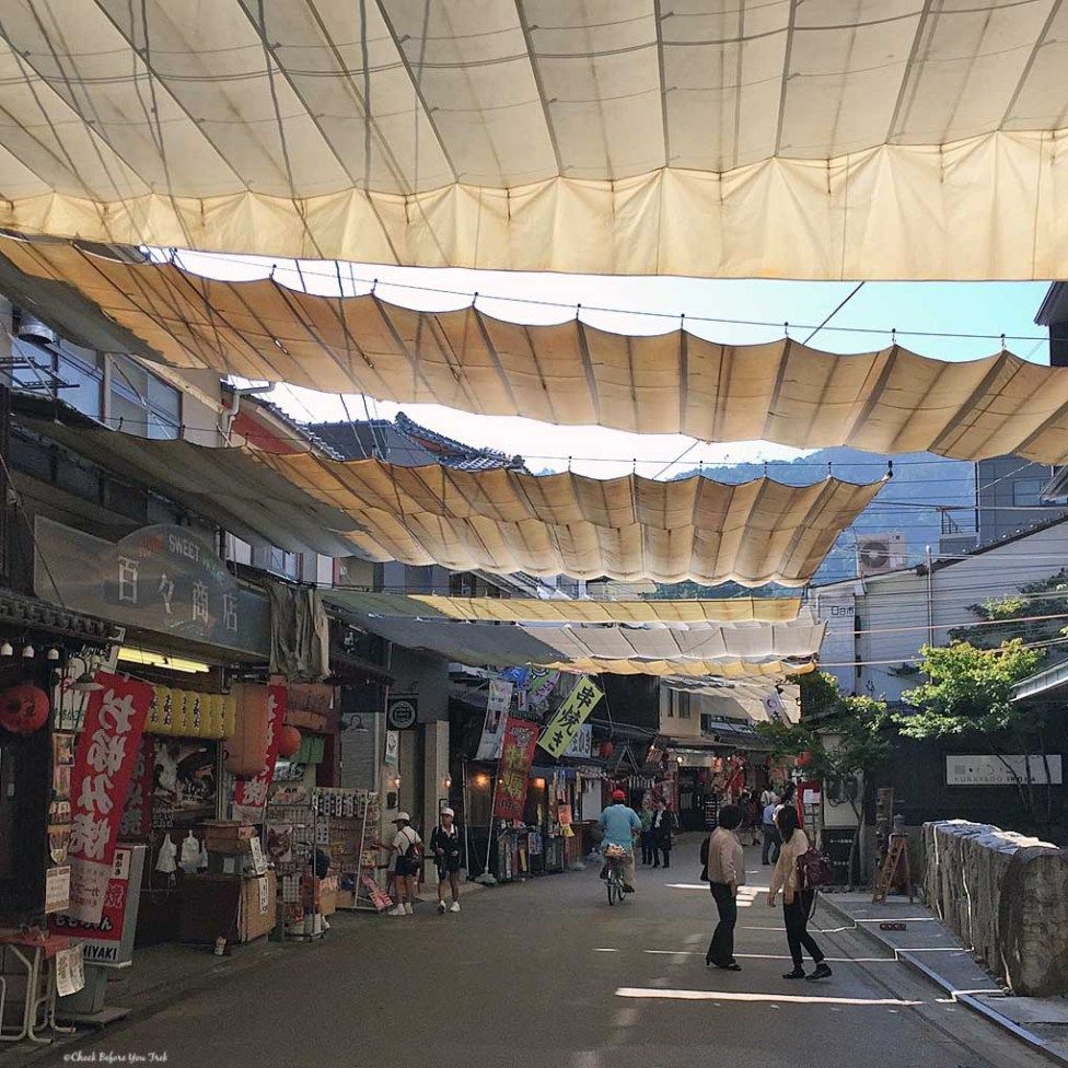 Miyajima Street Awning 5th Year Precedents Miyajima
