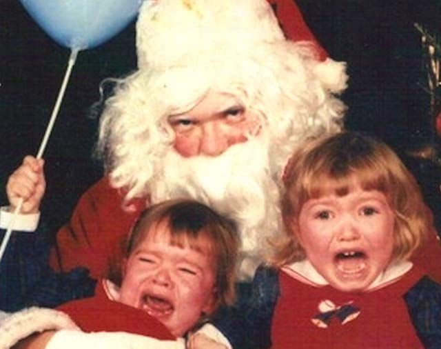 Image result for creepy santa pictures