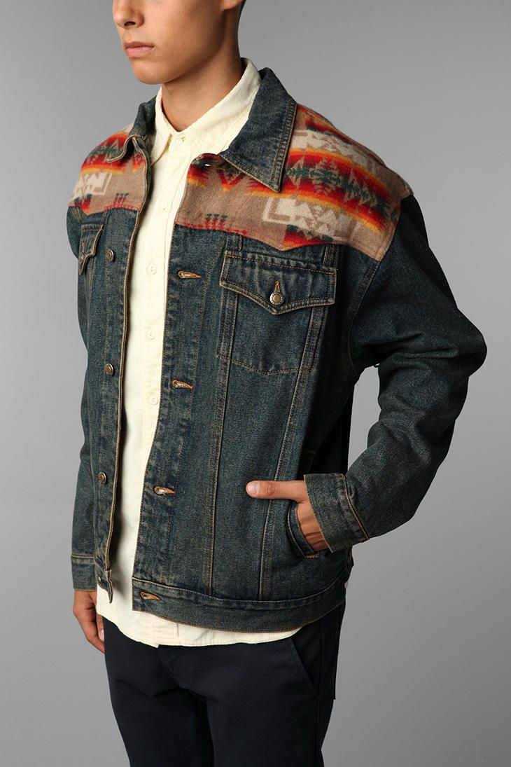 Pendleton Chief Joseph Denim Jacket Denim Jacket Jackets Western Jacket [ 1095 x 730 Pixel ]