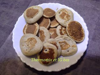 """thermomix et IG bas: """"Blinis PL"""""""