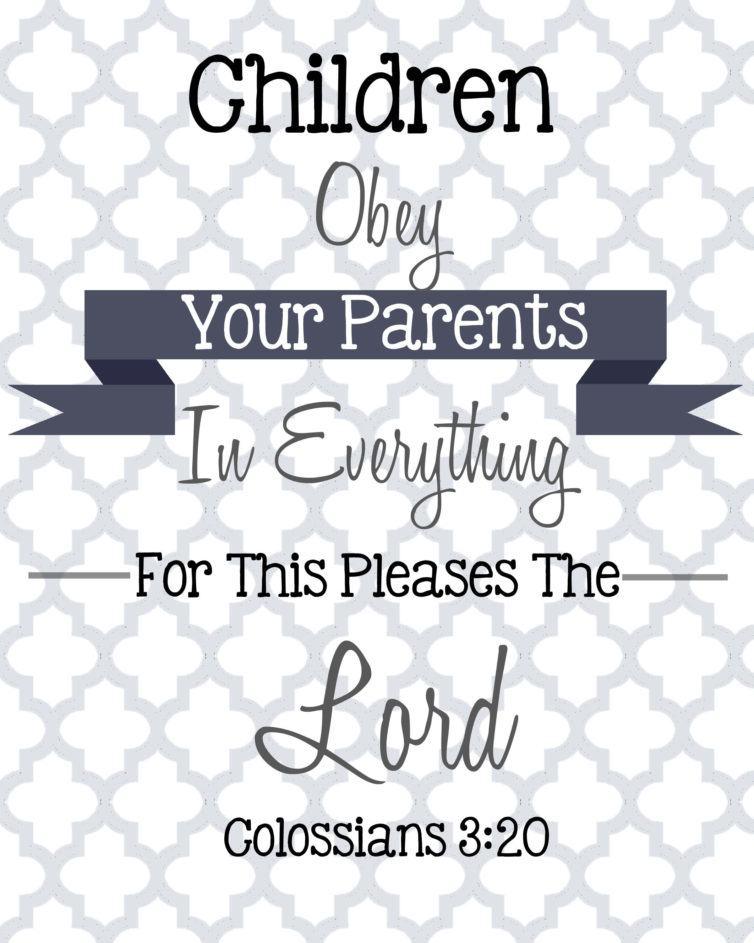 image result for colossians 3 20 image bible verses study