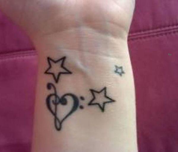 50 Eye Catching Wrist Tattoo Ideas Cuded Star Tattoo On Wrist Wrist Tattoos Girls Wrist Tattoos