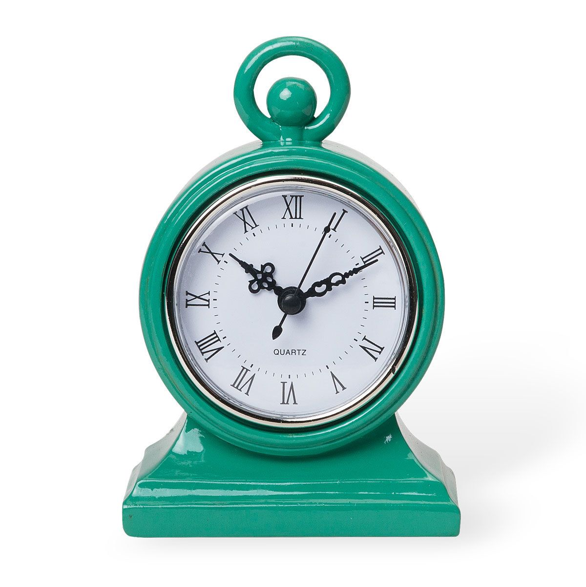 Green Mod Clock from Foreside Home & Garden