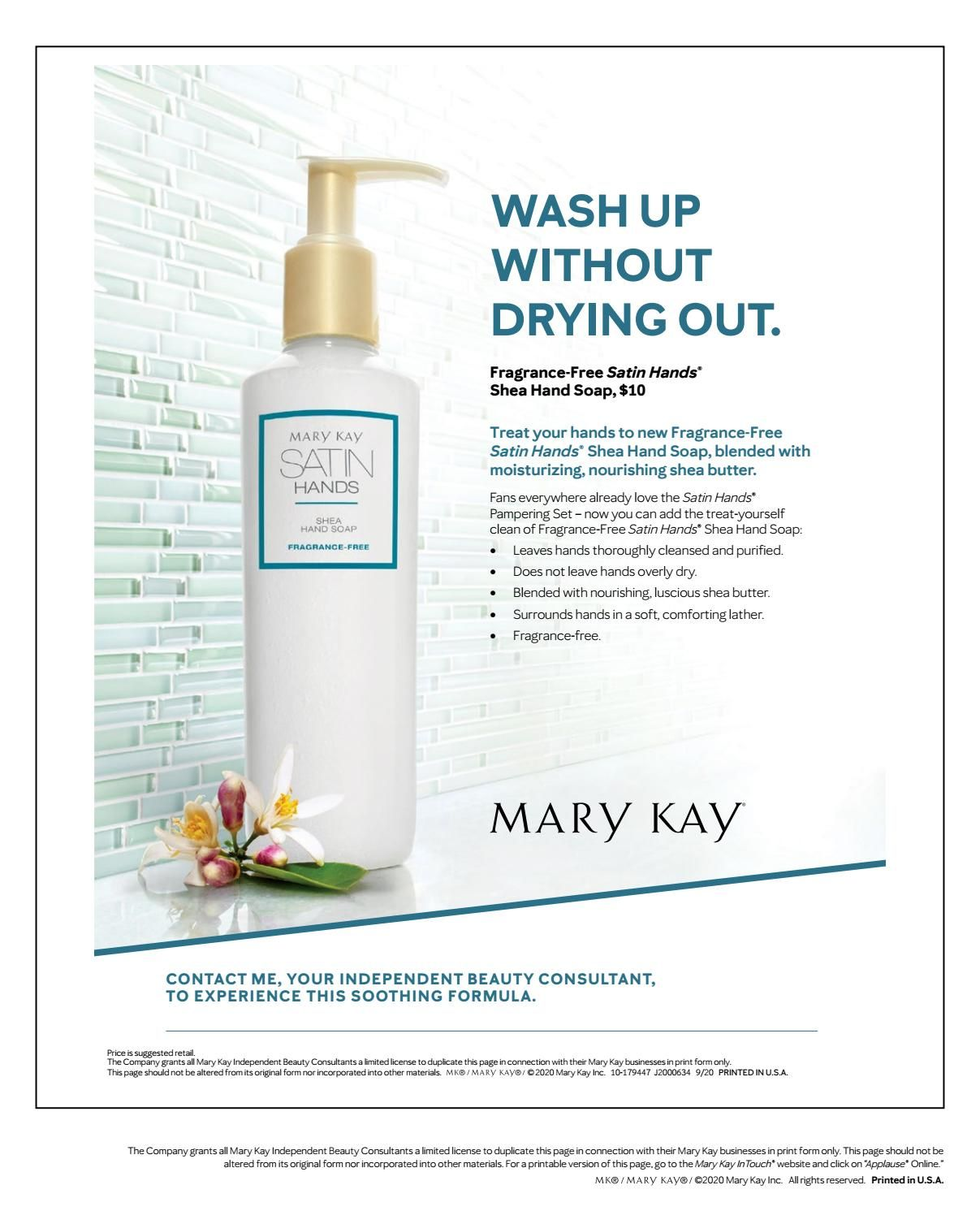 Applause For November 2020 Mary Kay Holiday Mary Kay Mary Kay Cosmetics