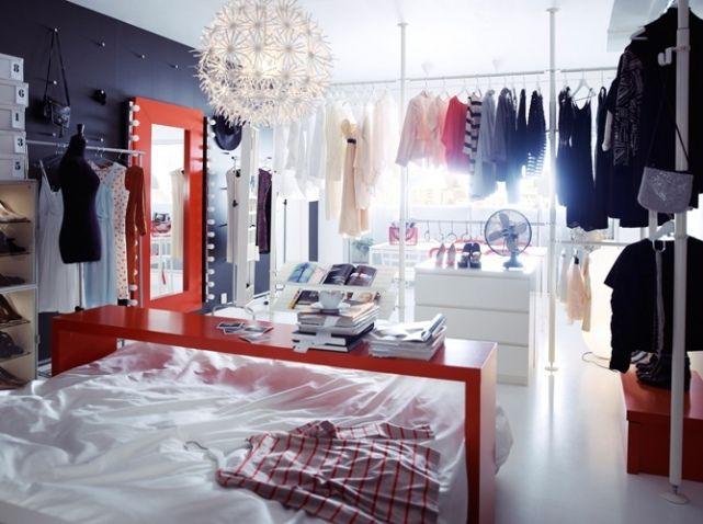 dressing #room #ikea c l o s e t Pinterest Idée déco chambre