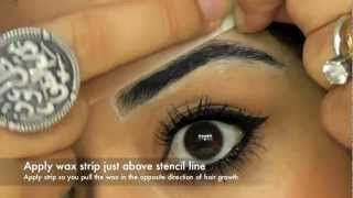 Best Eyebrow Shaping Tutorial On YouTube As Voted By YOU! How To Pluck Eyebrows Easy