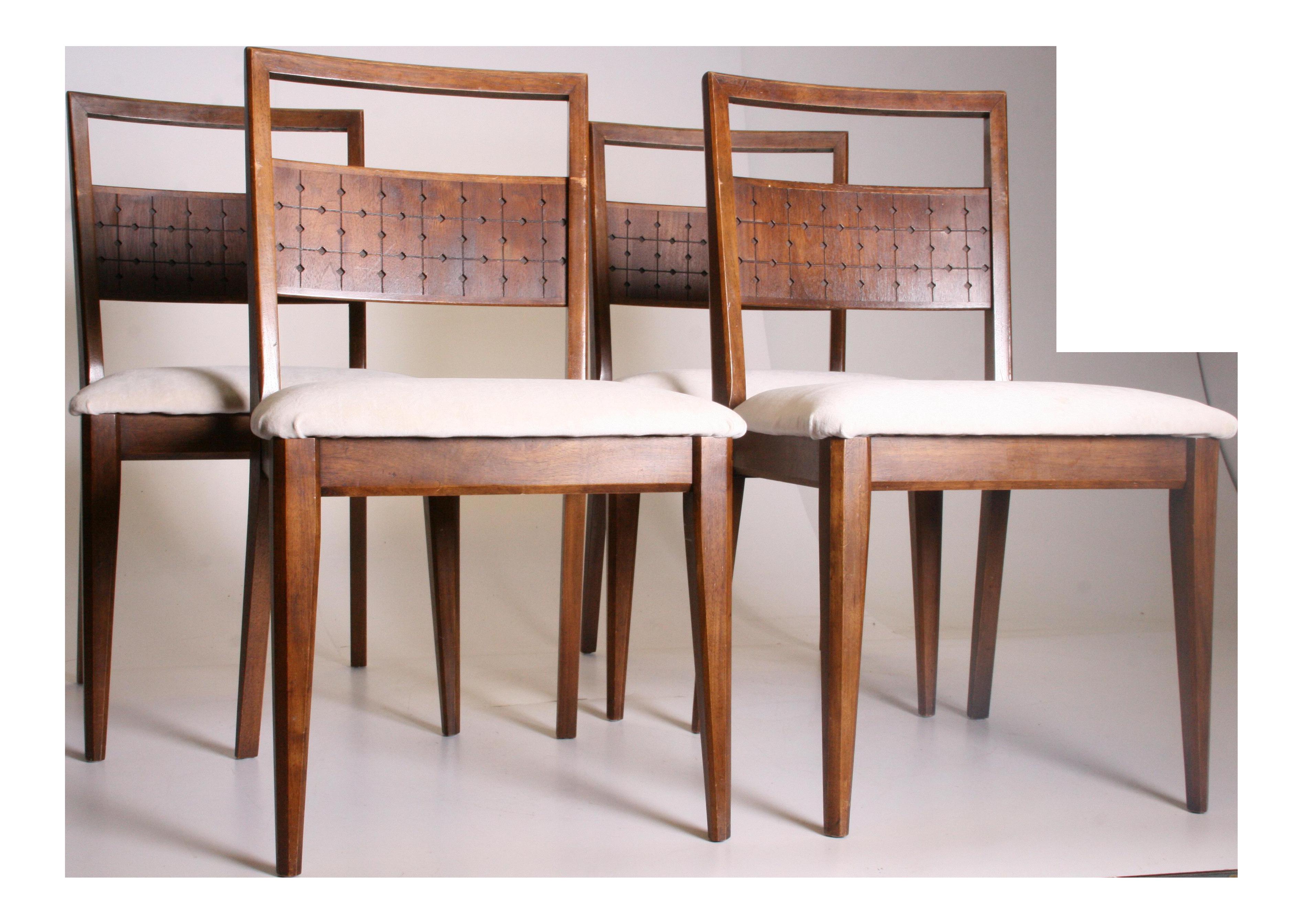 Mid Century Modern Broyhill Saga Dining Chairs