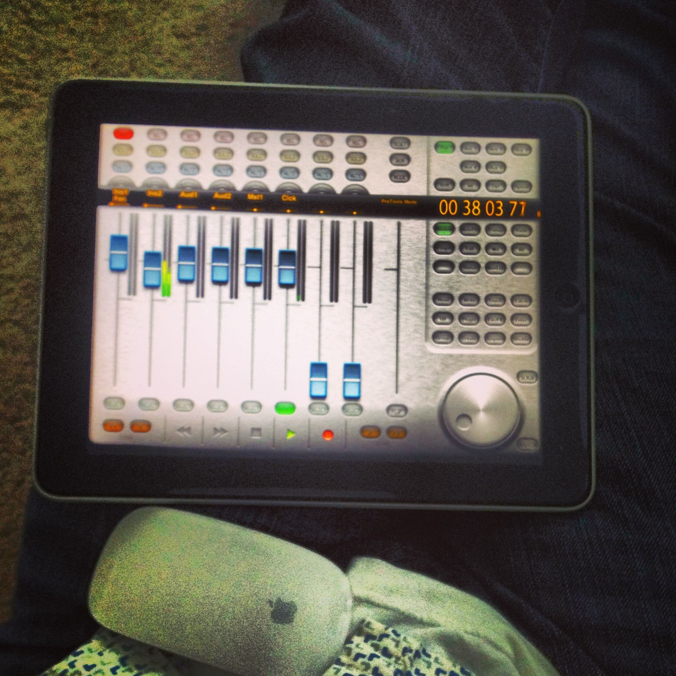 Ac7 core remote controls for pro tools or logic etcetera