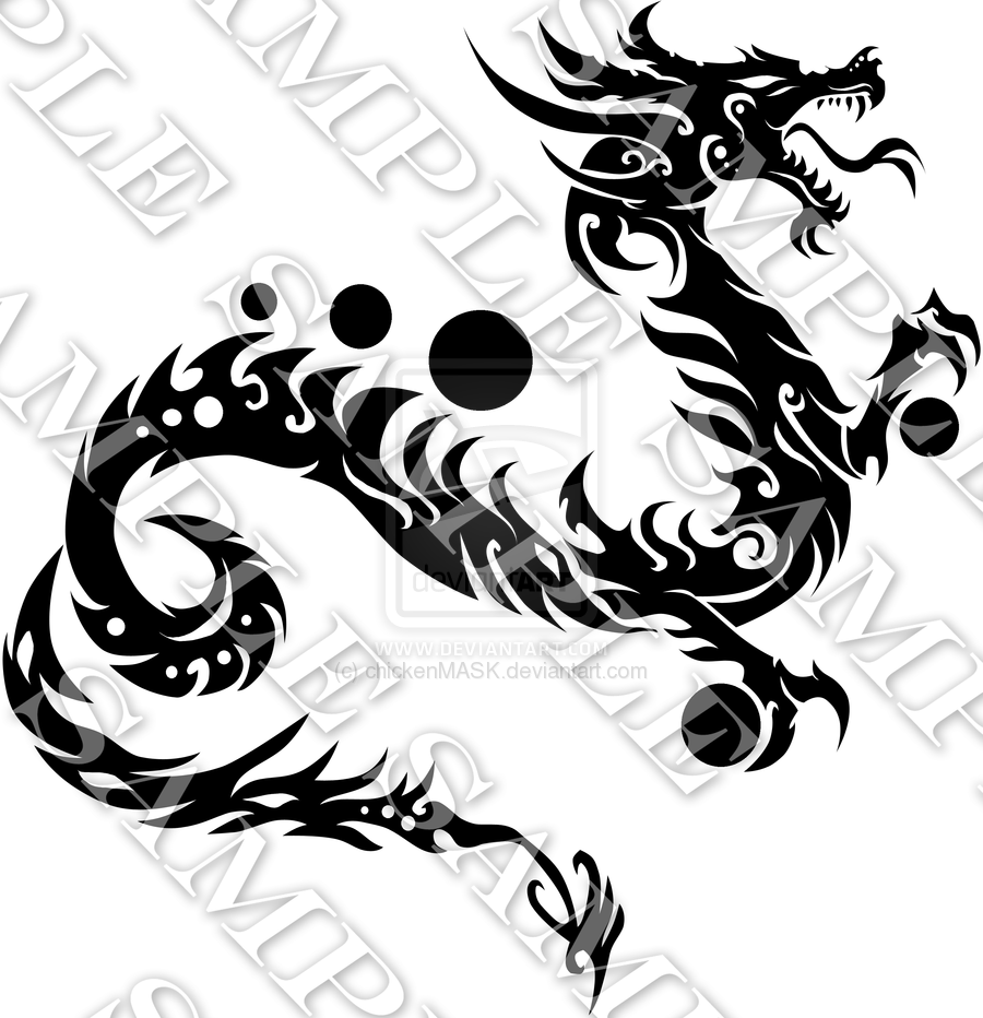 year of the dragon by on deviantart body art pinterest. Black Bedroom Furniture Sets. Home Design Ideas