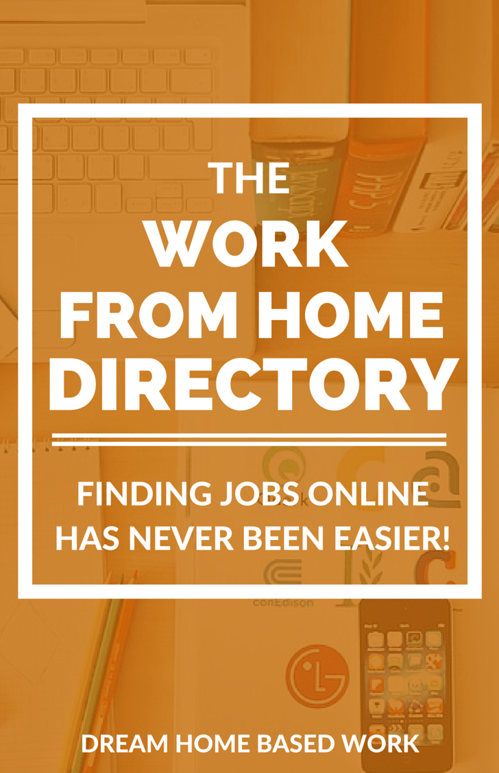 Free Job Directory Work From Home Moms Working From Home Home Based Work