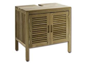 Badezimmermöbel Bambus ~ Bambus waschtischunterschrank bambusschrank badmöbel waschbecken