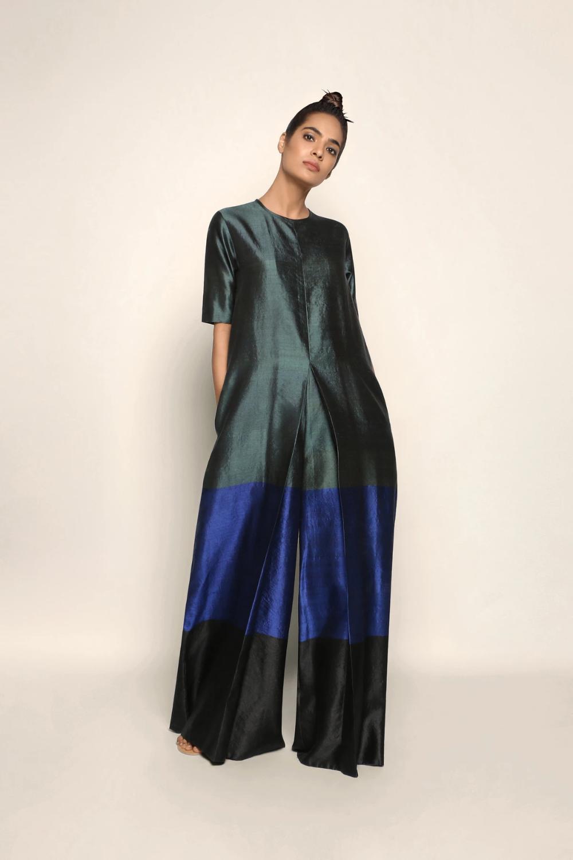 Handwoven Silk Jumpsuit Silk Jumpsuit Fashion Silk Outfit