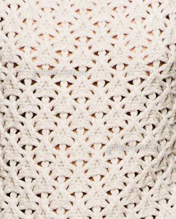 Вязание спицами фото схемы рисунки ажурные