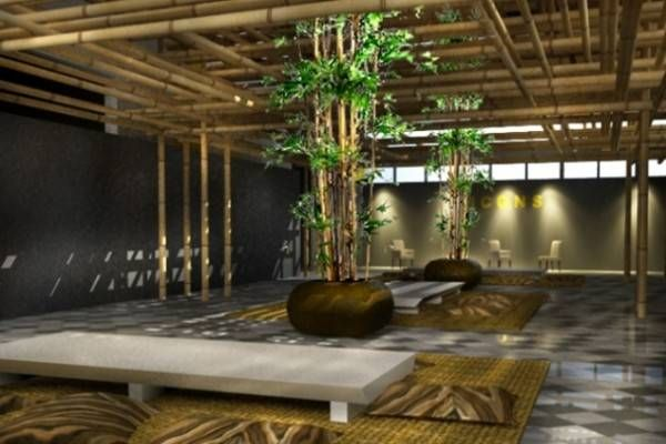 Bamboo Interior Design Ideas Interior Wall Design Bamboo House