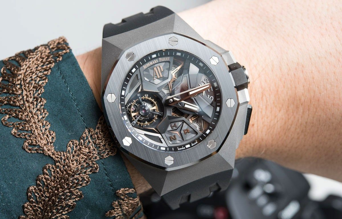 Audemars Piguet Royal Oak Concept Flying Tourbillon Gmt Watch