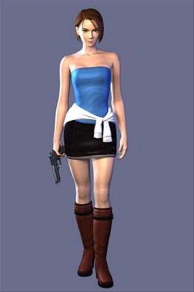 Resident Evil 3 Jill Valentin Cosplay Costume Resident