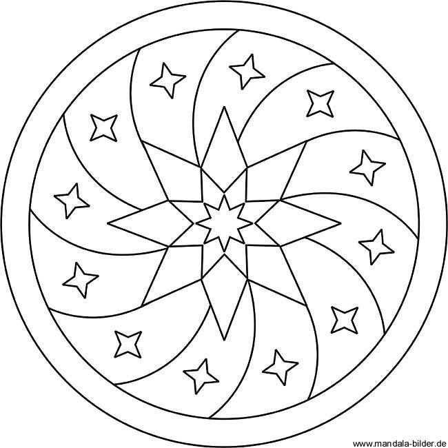 Mandala Vorlage Fur Die Innere Ruhe Und Zum Entspannen Mandala Coloring Pages Mandala Coloring Simple Mandala Design