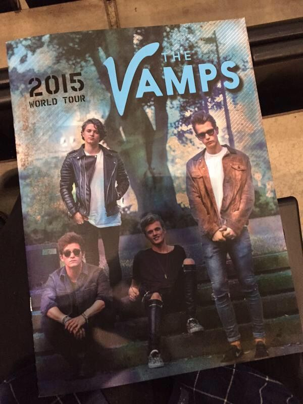 The Vamps tour programme