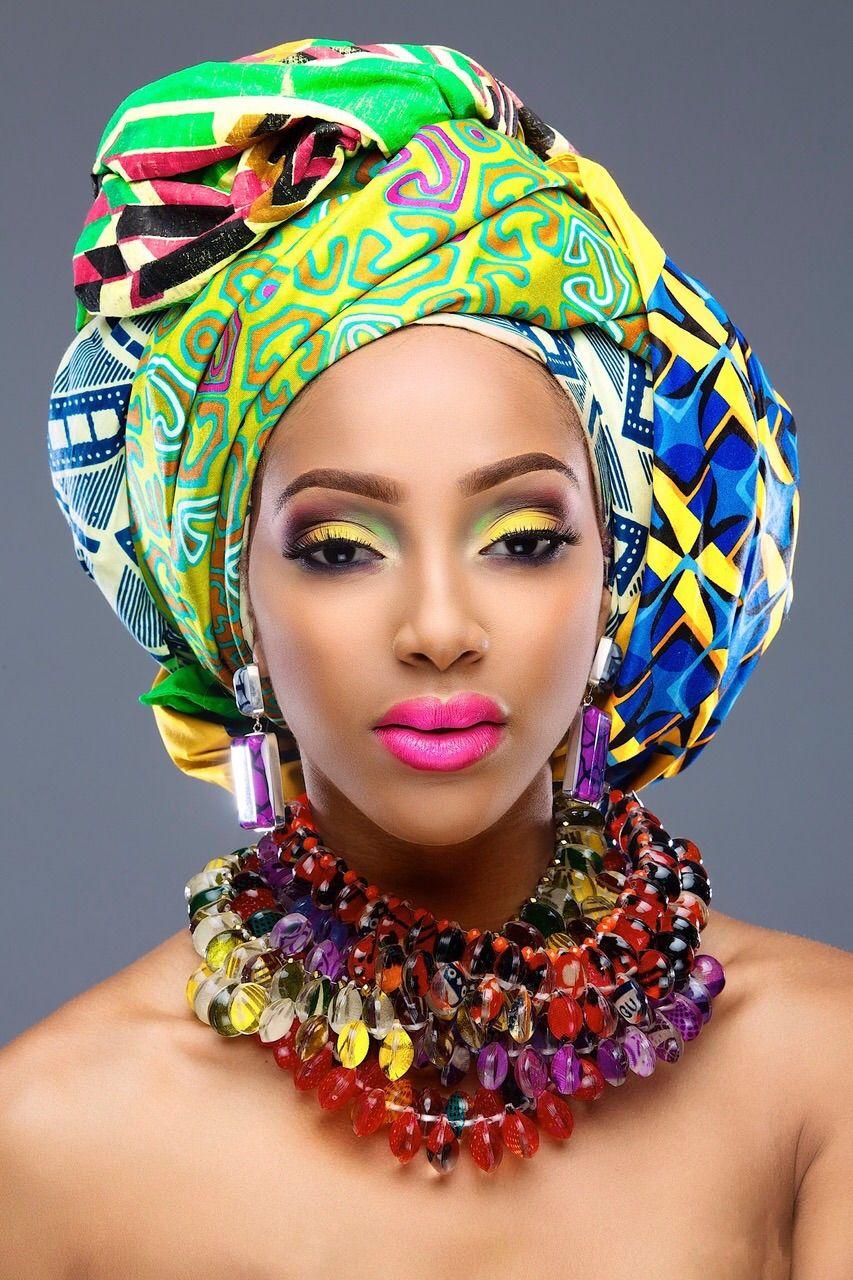 Bold Makeup Looks By Rayjeweled Beauty African fashion