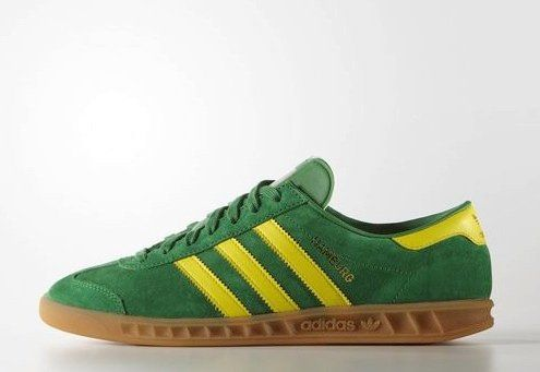 quality design 79292 f4e62 Adidas Hamburg Green