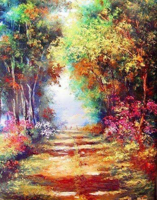 Gorgeous Art Beautiful Paintings Landscape Art