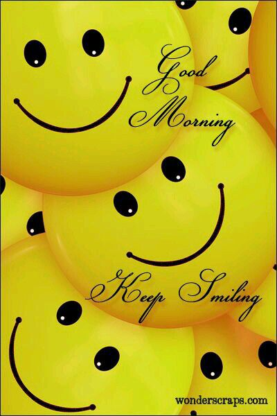 Good Morningkeep Smiling 7 Days And Times Cute Good Morning