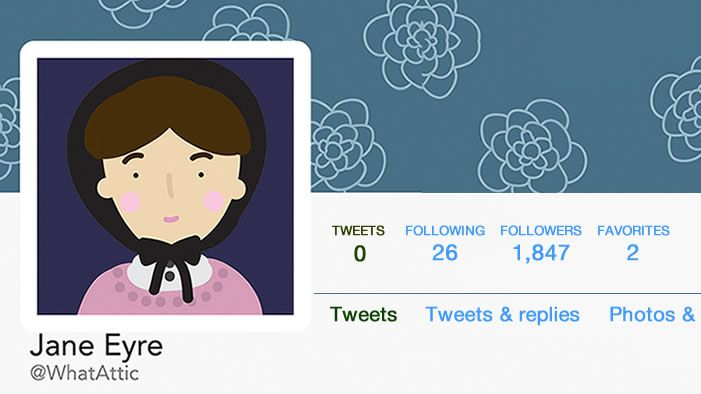 SparkLife » Twitter Bios of Fictional Characters