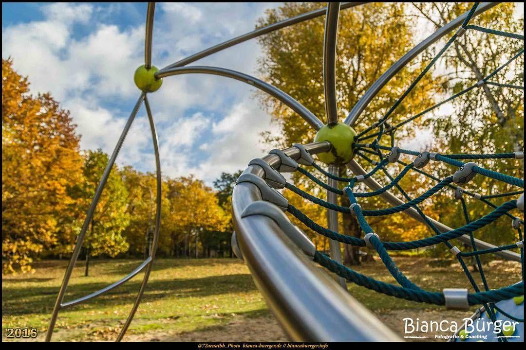 Klettergerüst Du Hast : Kienhorstpark im herbst okt 2016 das klettergerüst 1 #berlin